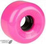 "SIMS ""Street Snake"" Rollerskate wheels 78a PINK x8  Fit Bauer, Supreme, Ventro, etc. Outdoor"
